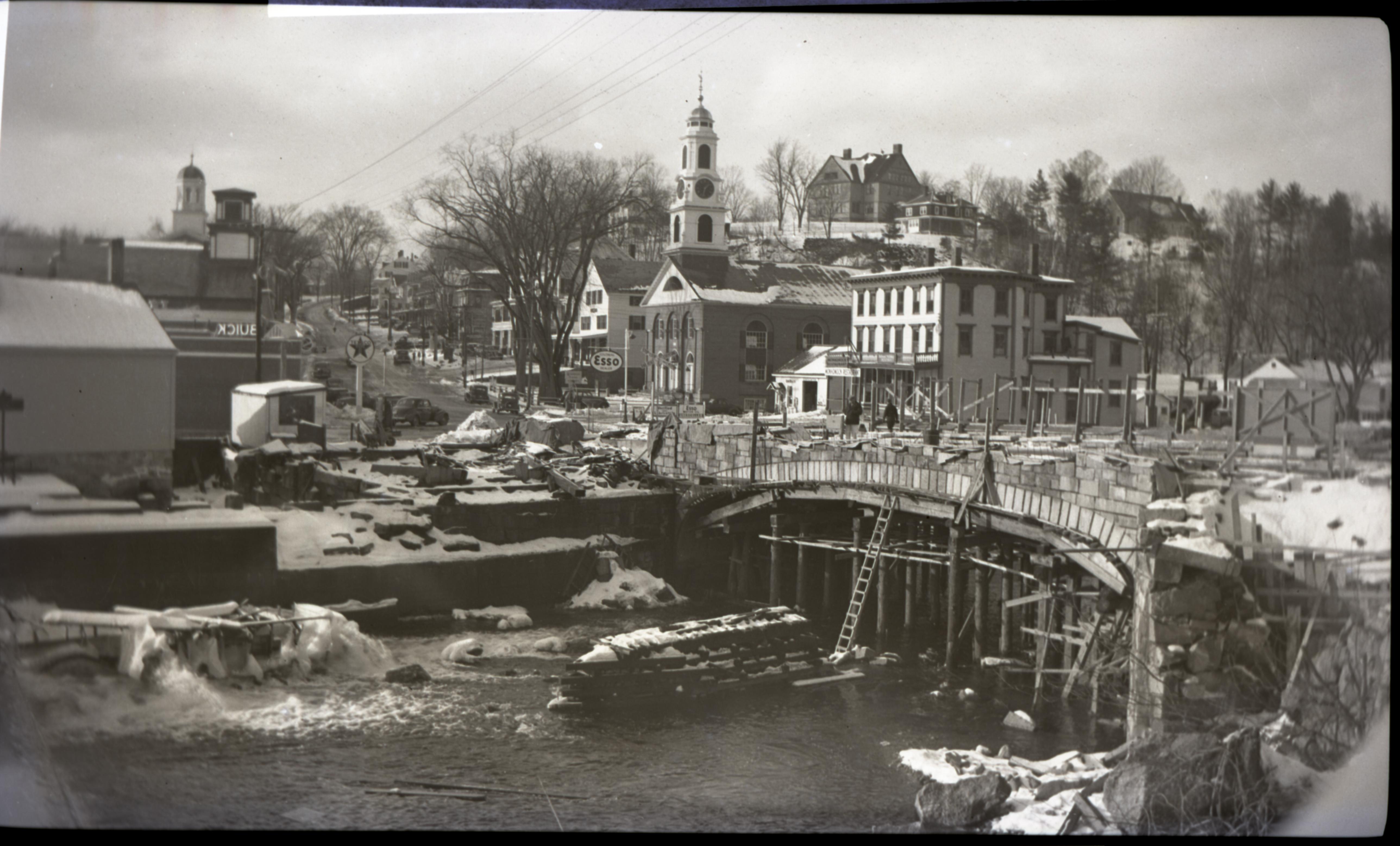 1940 Bridge Construction - South Elevation of Bridge