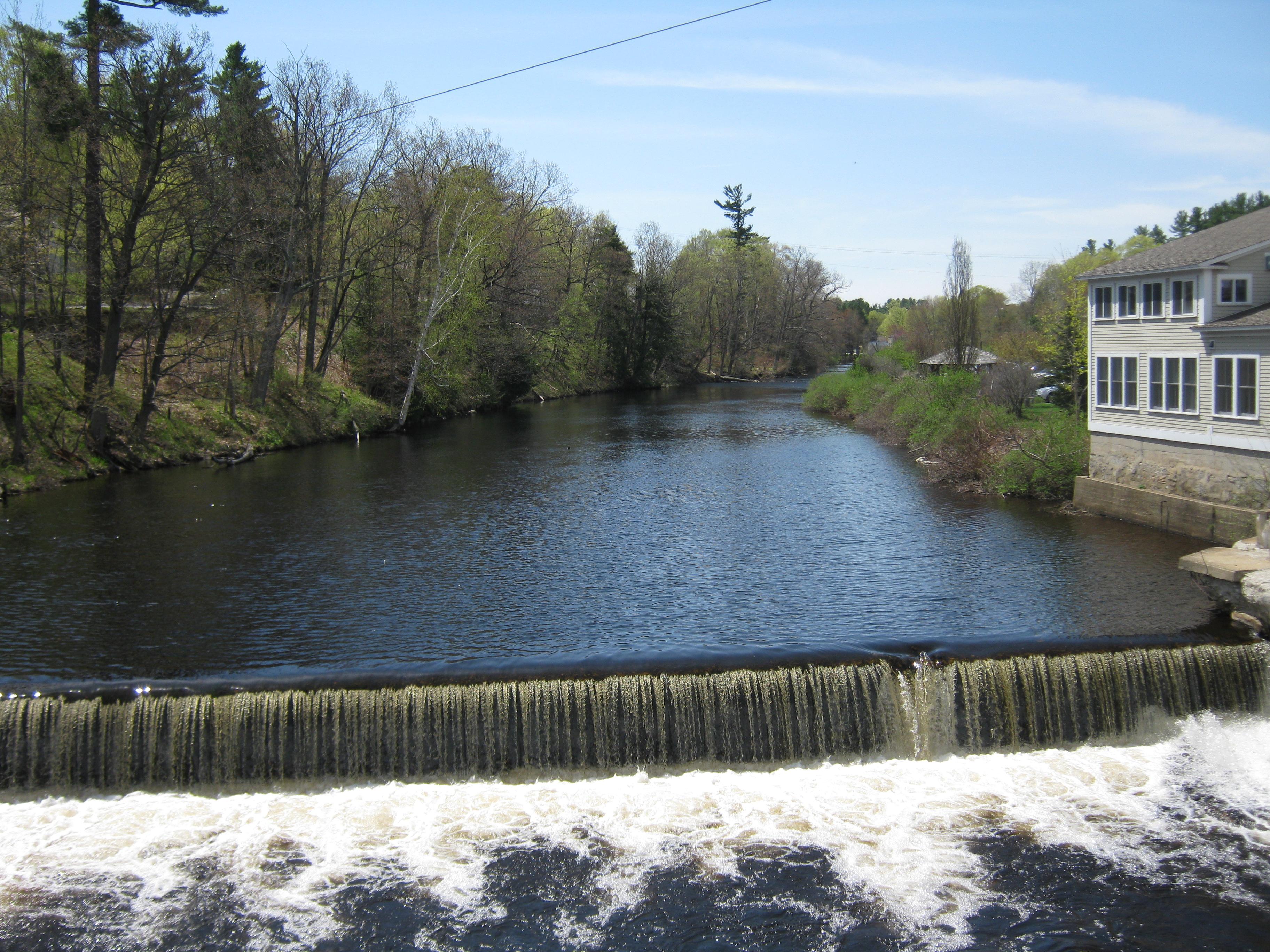 Transcript Dam Upstream (South) of Main St Bridge